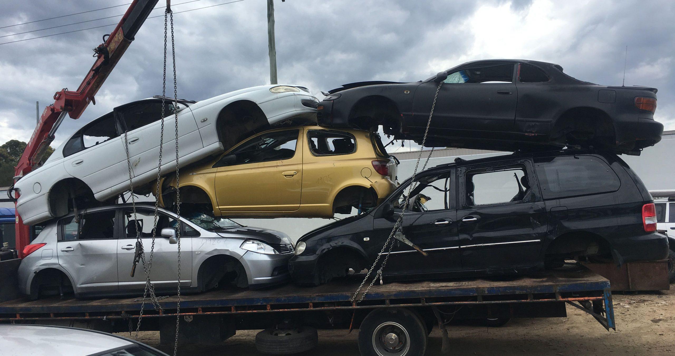 Scrap Car Yard Townsville